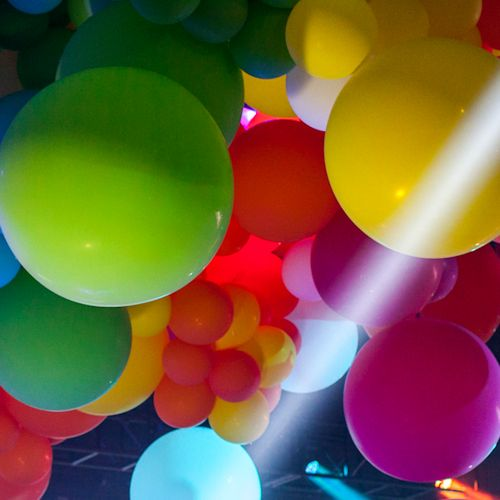 bright balloon ceiling My Chemis L