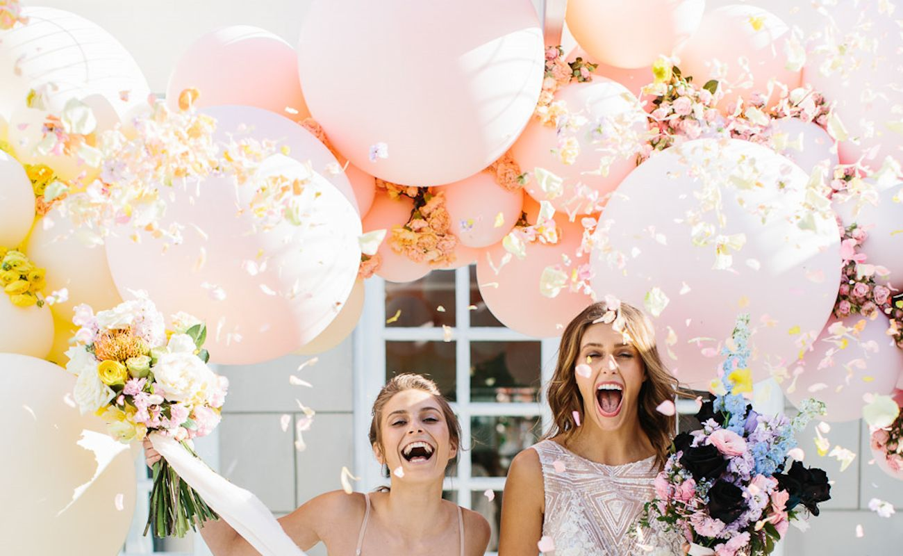 fun wedding balloons